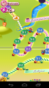 Candy Crush How To Move To Next Level