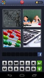 4 plaatjes 1 woord antwoorden