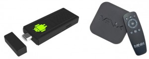 Android Stick en Android Box