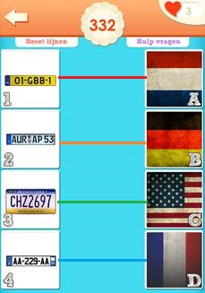 Match de Plaatjes - Antwoord 332